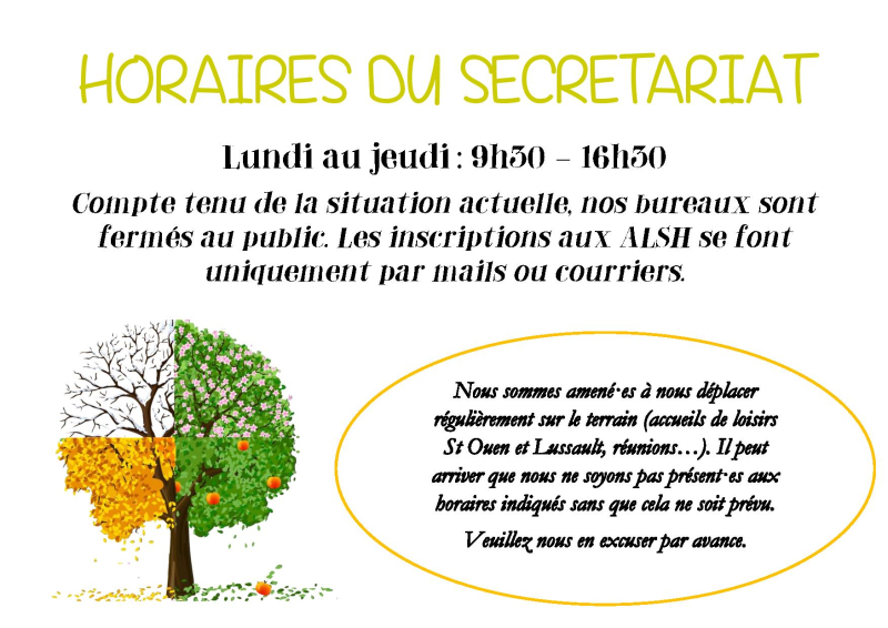 HORAIRES DU SECRETARIAT-page-001